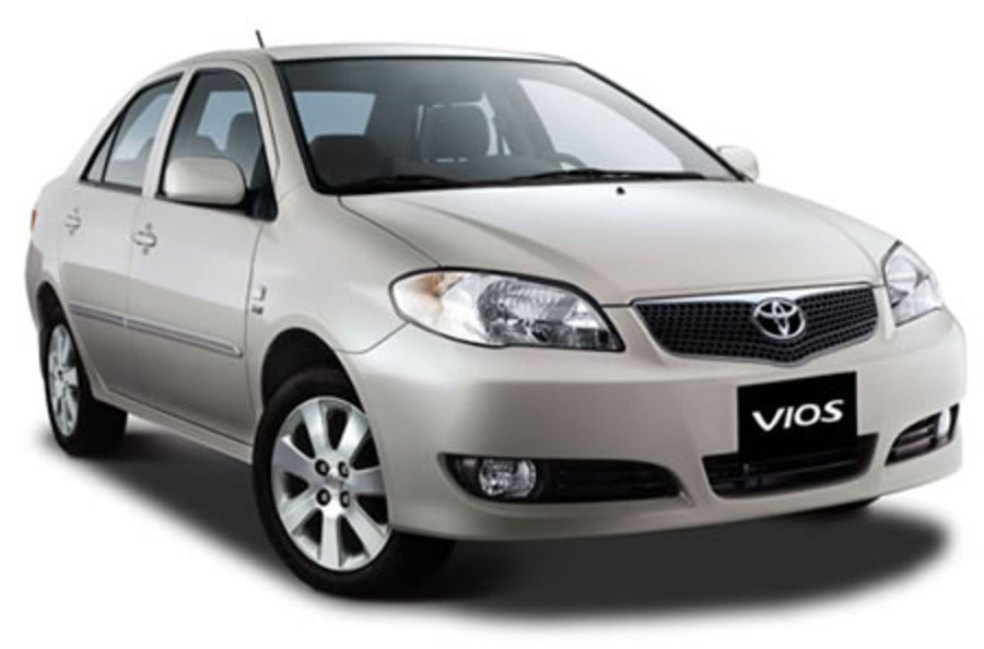 Toyota Vios. Jumping across my favorite local blogs, I chanced upon fellow