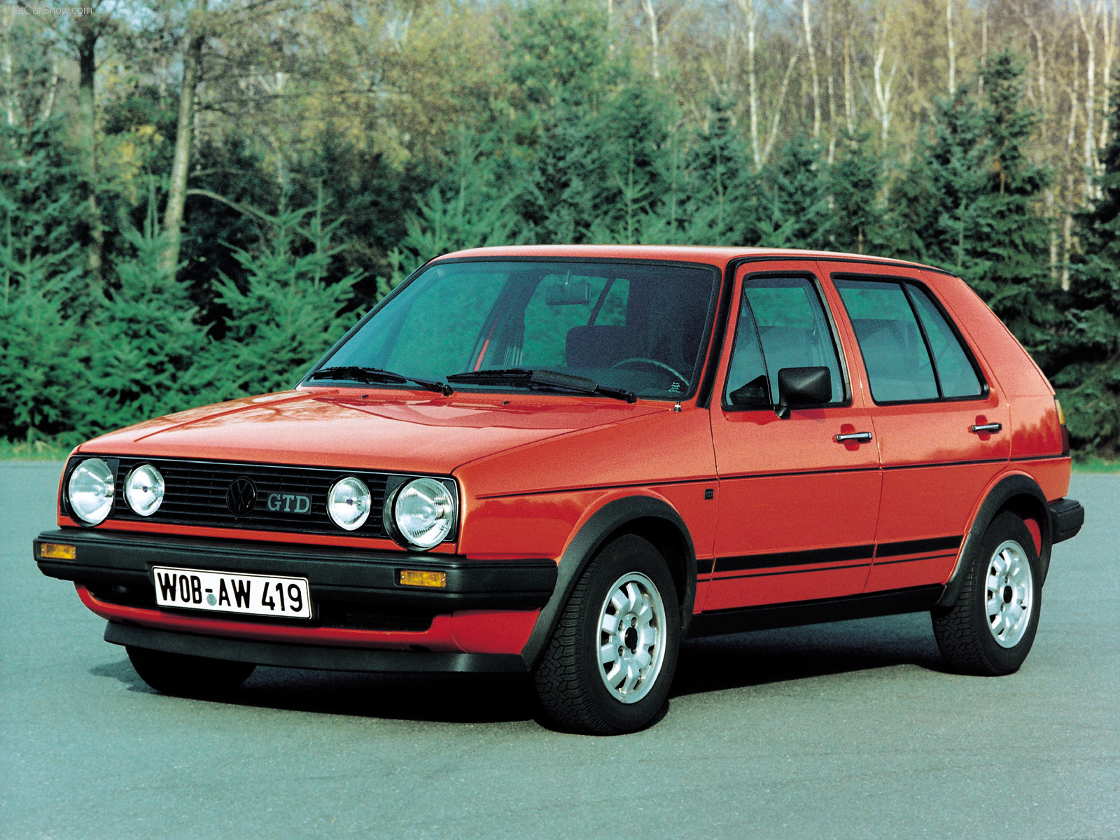 Volkswagen Golf II - huge collection of cars, auto news and reviews,