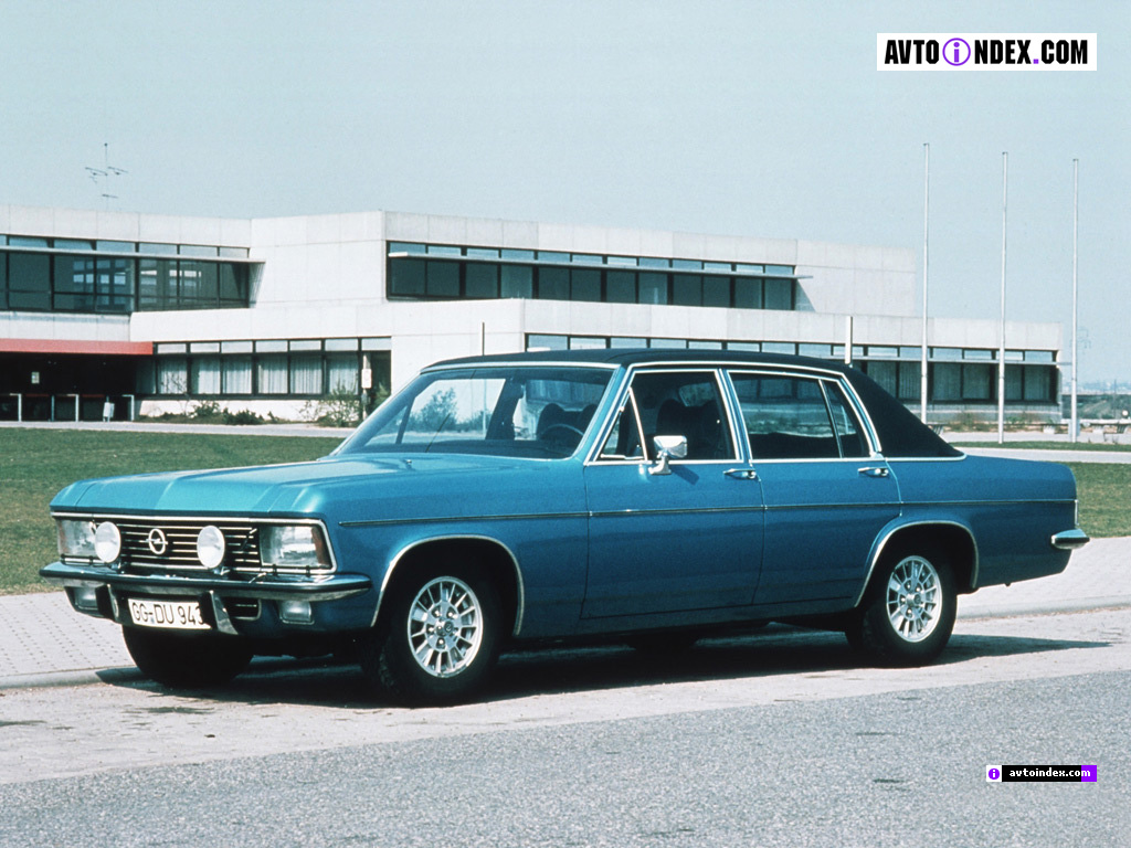 Opel Admiral - huge collection of cars, auto news and reviews, car vitals,