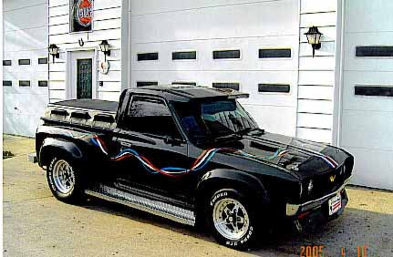 another classic. custom datsun pickup