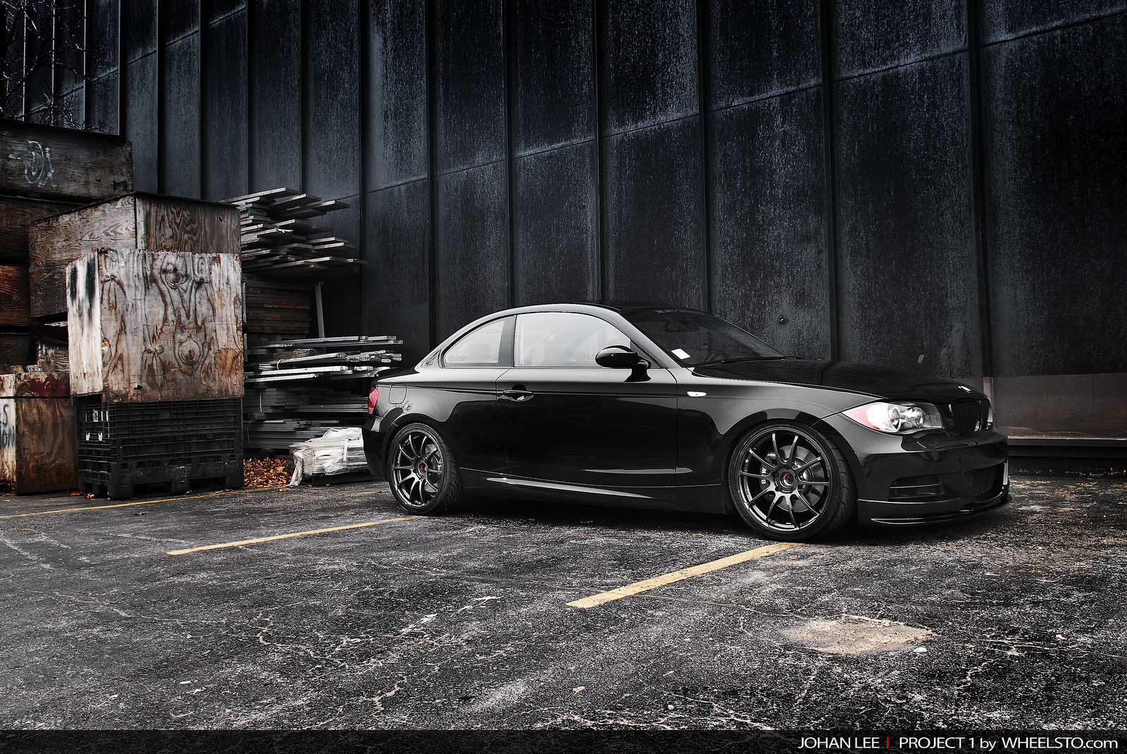 WSTO started to modify a BMW 135i Coupe a couple of months ago and during