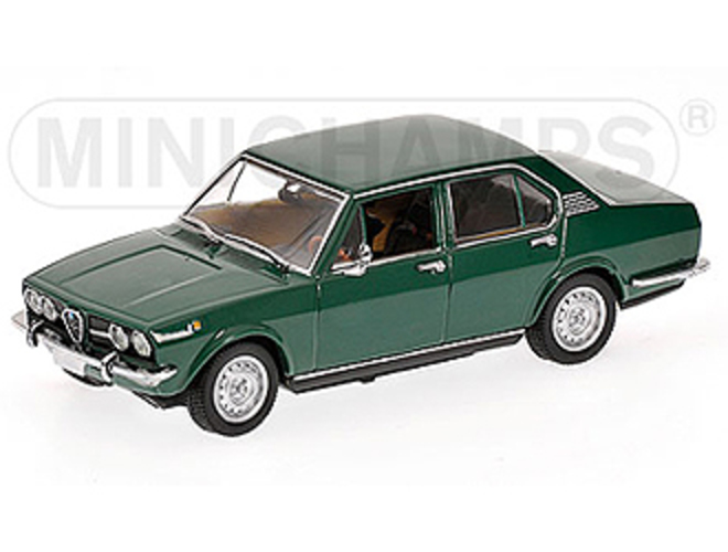 Alfa Romeo Alfetta 1.8 (1974) in Green (1:43 scale by Minichamps