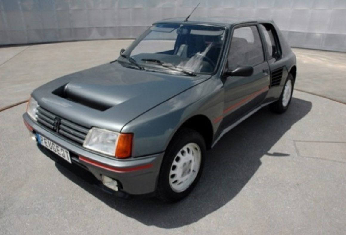 "peugeot 205 t16 #2693512"" — card from user marinabondareva2018 in"