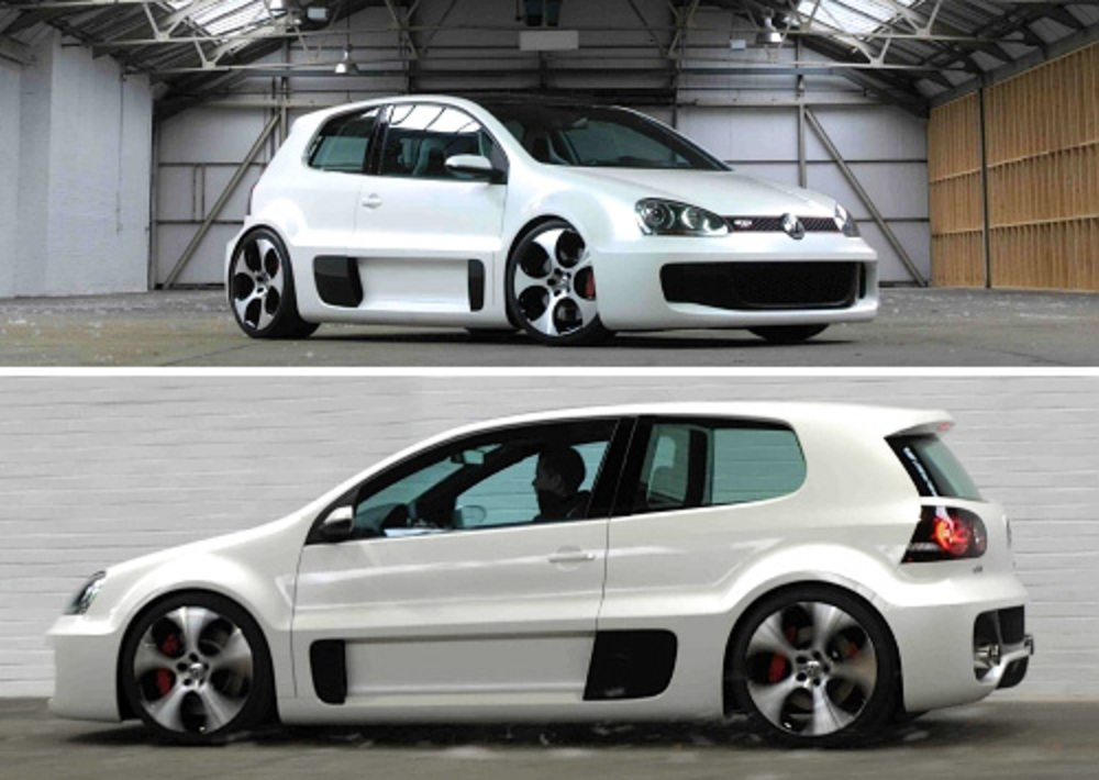 Volkswagen Golf GTI W12 (Images courtesy Fifth Gear) By Andrew Liszewski