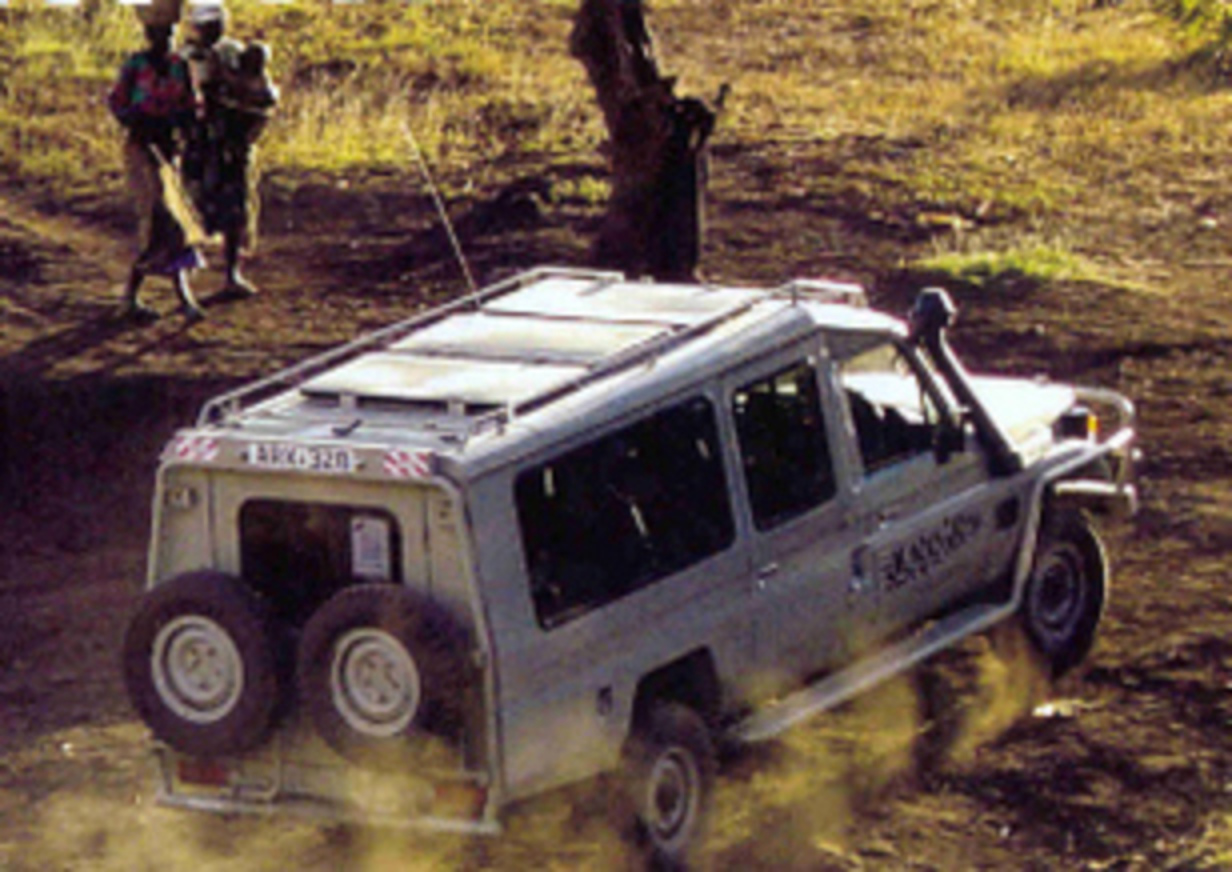 Toyota Land cruiser Safari. Picture. The Toyota Land Cruiser is our flagship