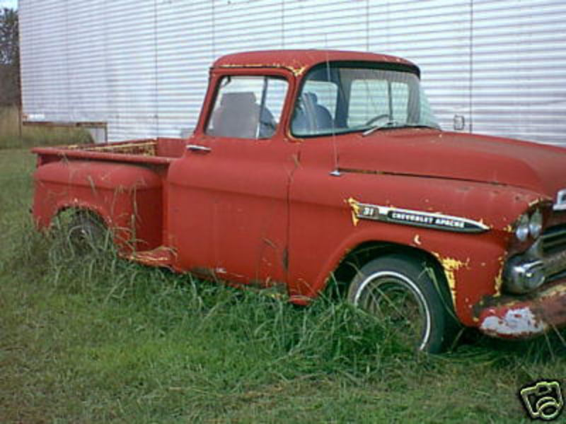 1958 chevrolet apache 31 stepside photo 12