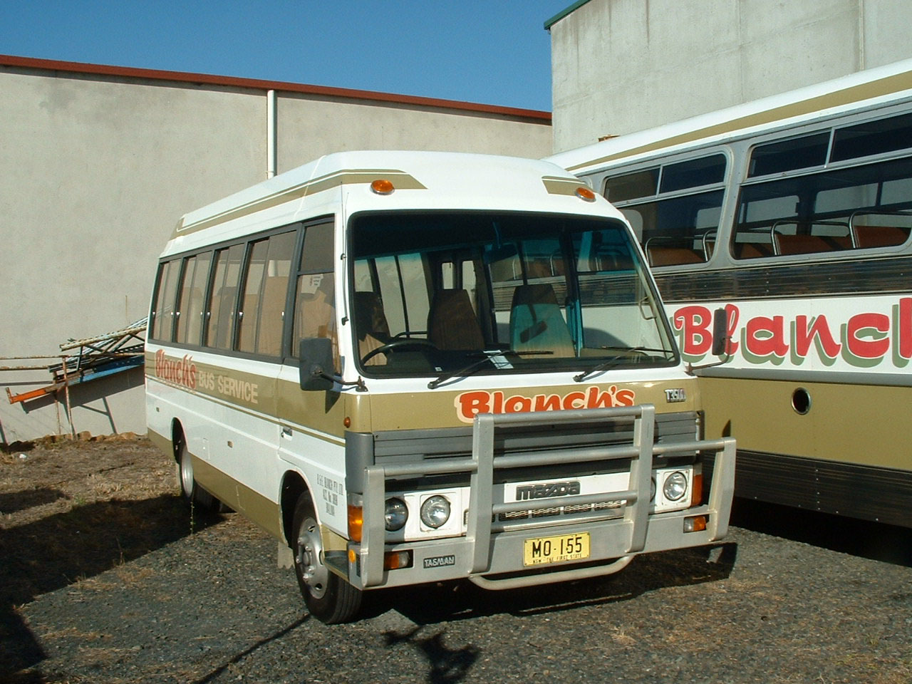 Since sold to a Queensland operator is Mazda T3500 22 (MO155),