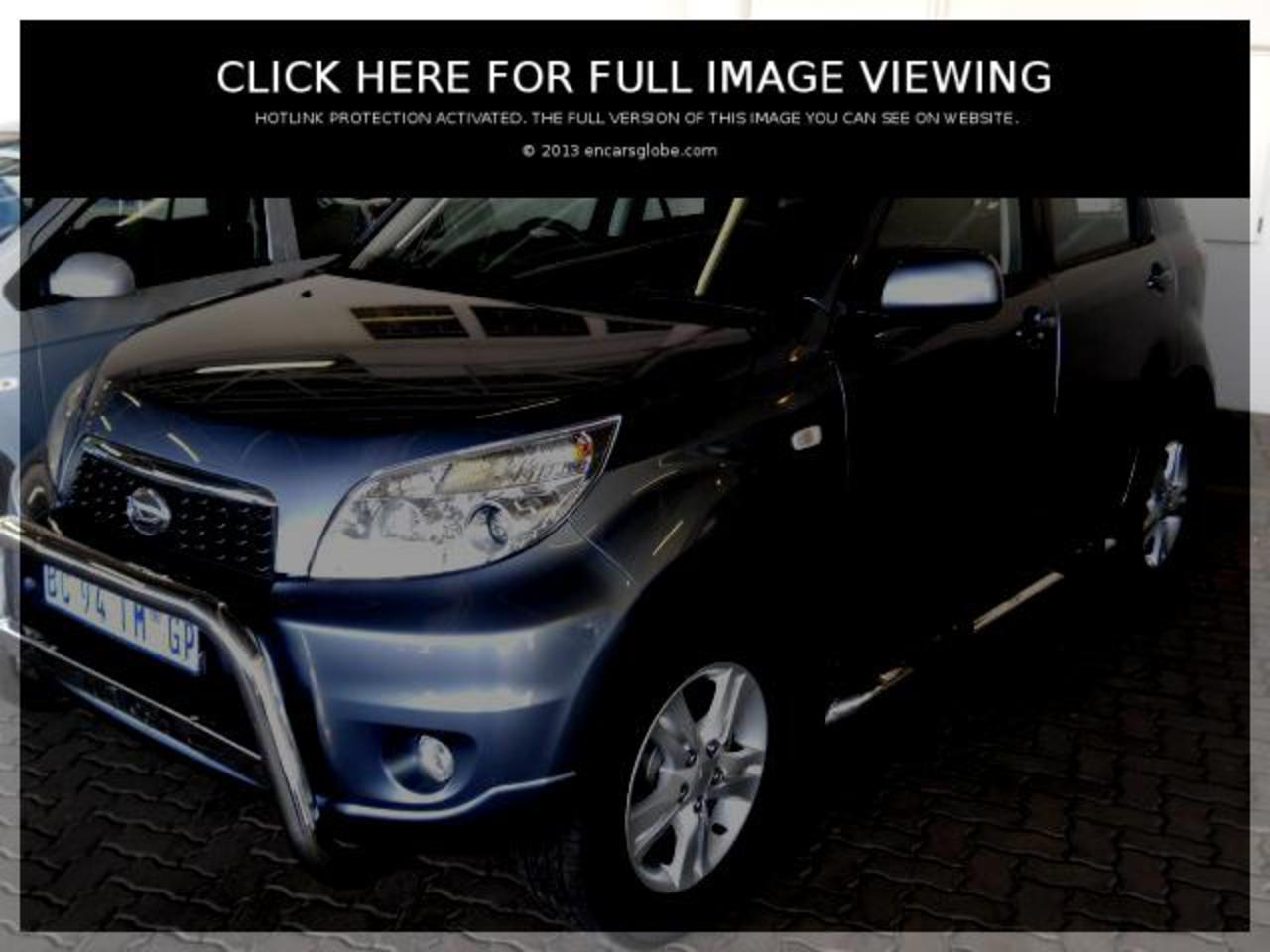 Daihatsu Terios 15 4x2: Photo gallery, complete information about ...