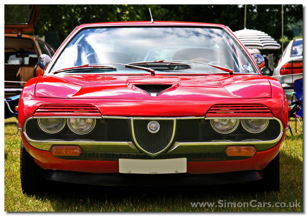 Alfa Romeo Montreal. A 2593cc V8 was developed for the Montreal out of the