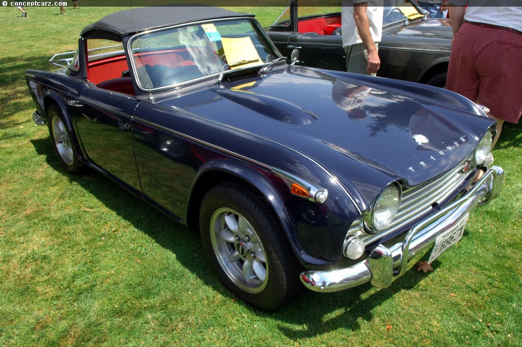 Auction results and data for 1966 Triumph TR4A | Conceptcarz.