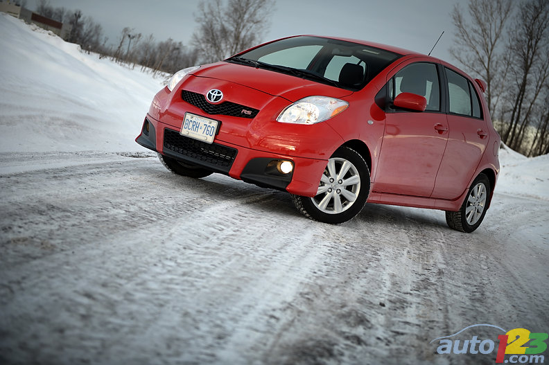 2010 Toyota Yaris Hatchback 5-Door RS Review