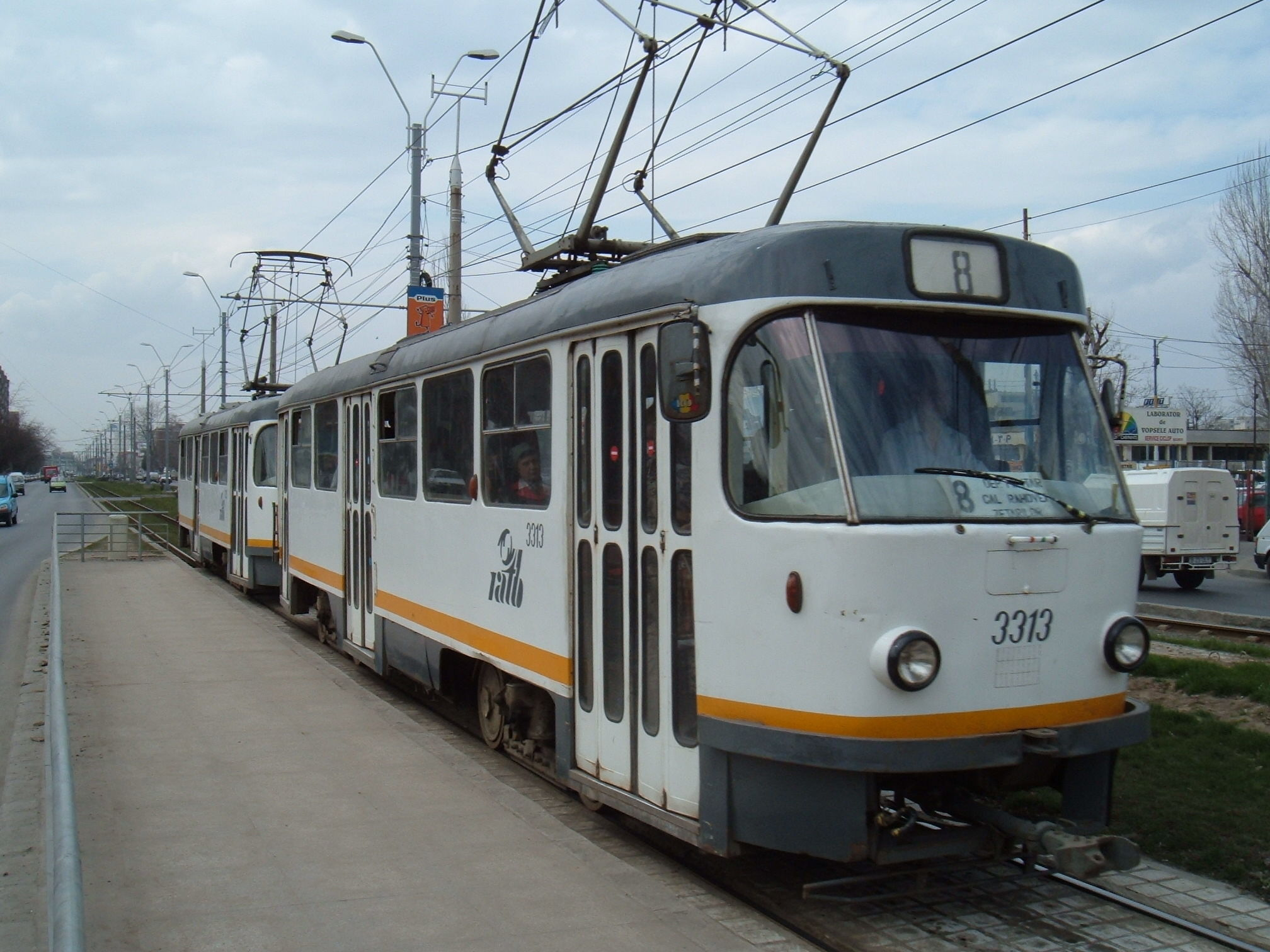 File:Bucharest Tatra tram 1.jpg - Wikimedia Commons