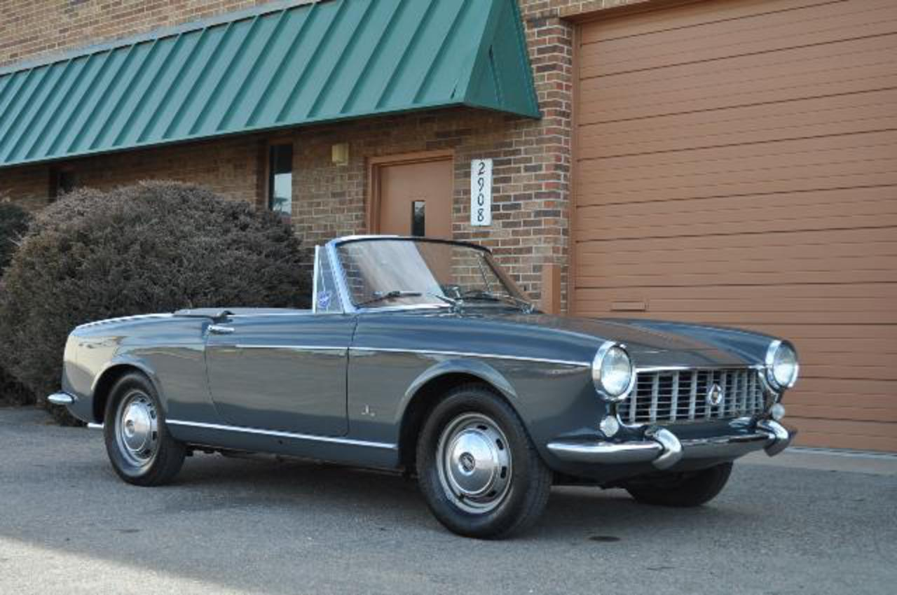 1967-Fiat-1500-Spider006. quote from seller's listing: