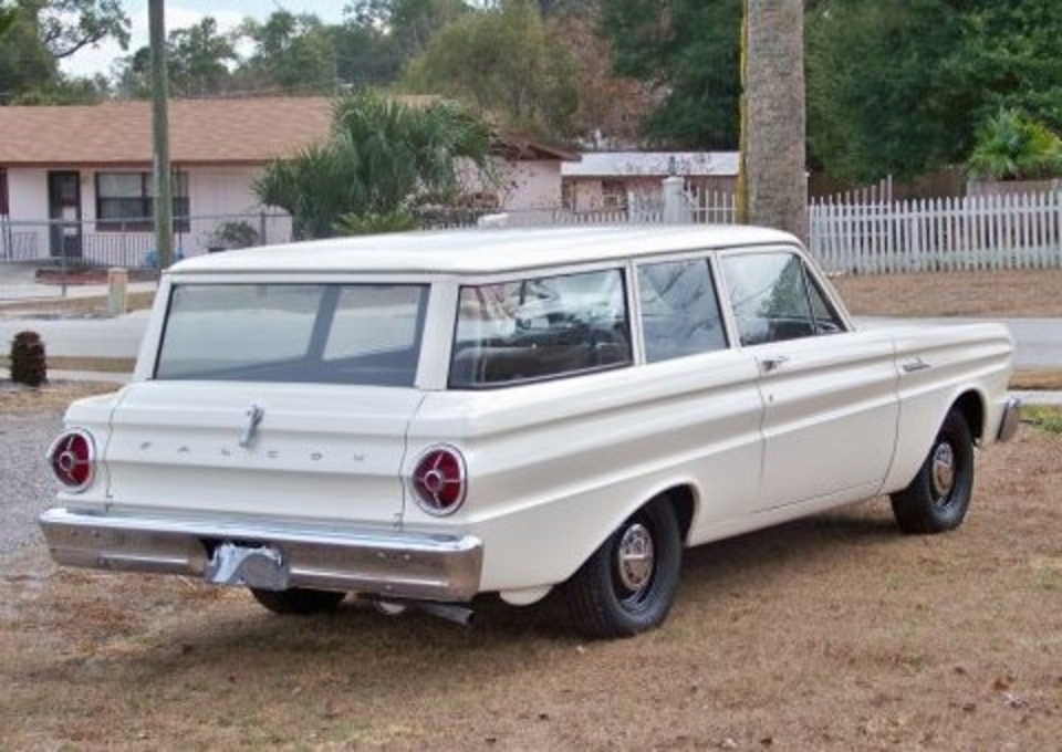No-Frills Driver: 1965 Ford Falcon Wagon
