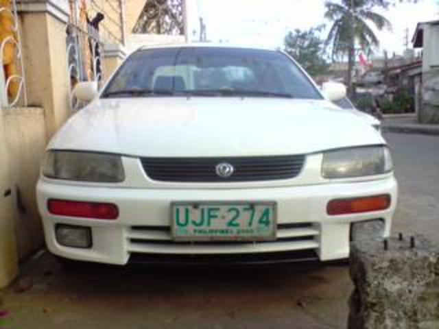 Pictures of mazda 323 glxi 96 model