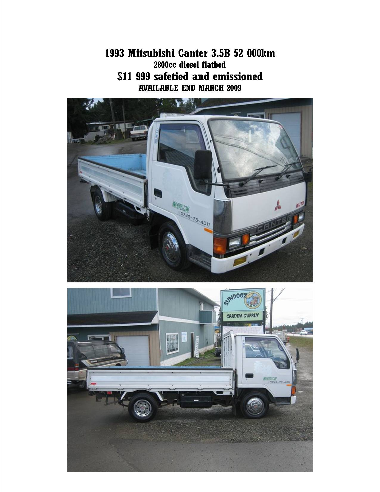 mitsubishi canter feature