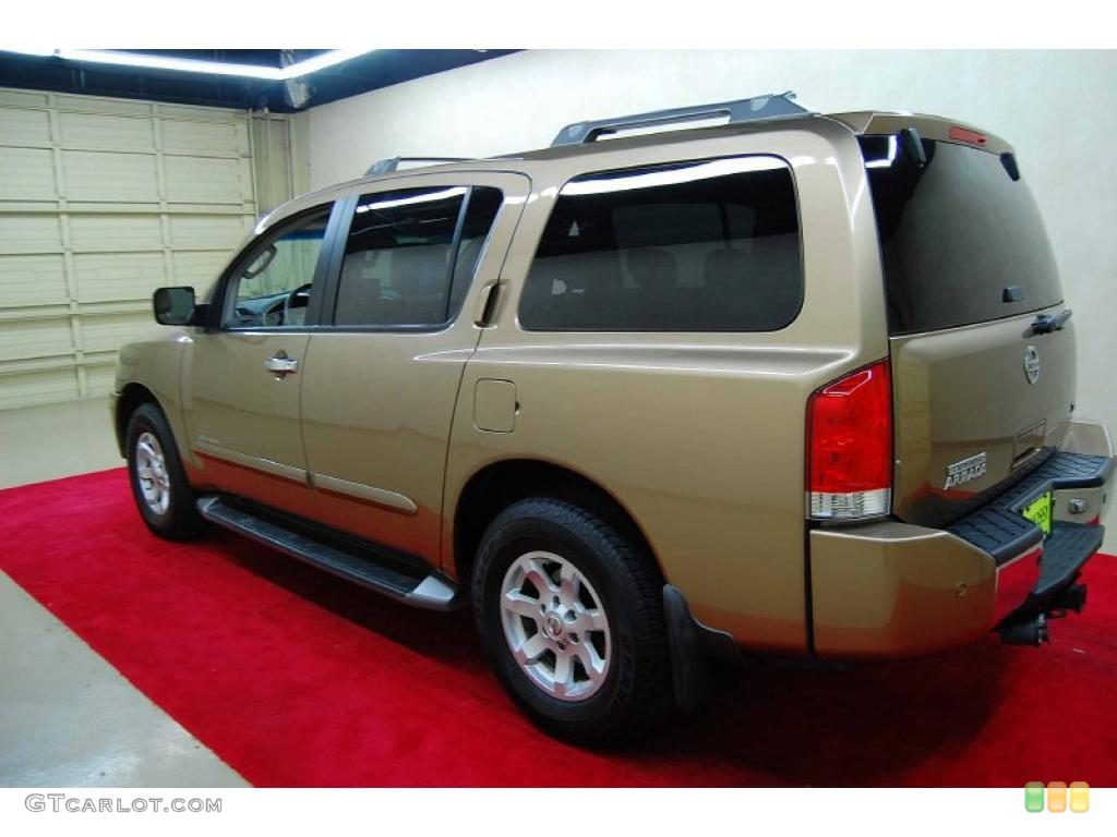 Sahara Gold Metallic 2004 Nissan Armada SE 4x4 Exterior Photo #49210916