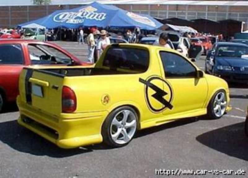 Opel Corsa Pick-up. View Download Wallpaper. 400x287. Comments