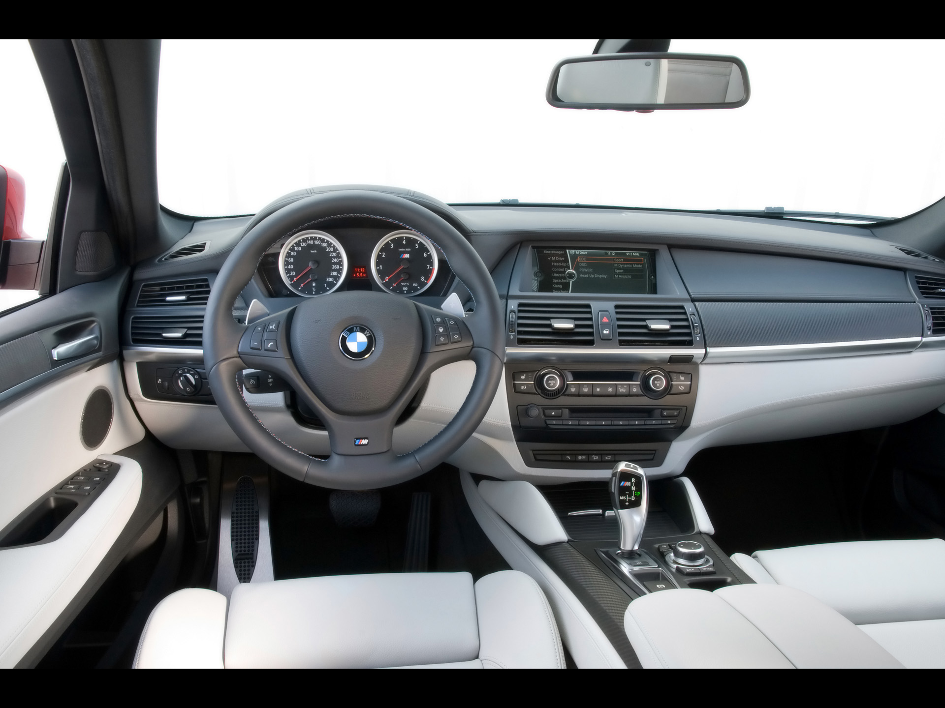 2009 BMW X6 M - Dashboard - 1920x1440 - Wallpaper. Image Credits - BMW Group