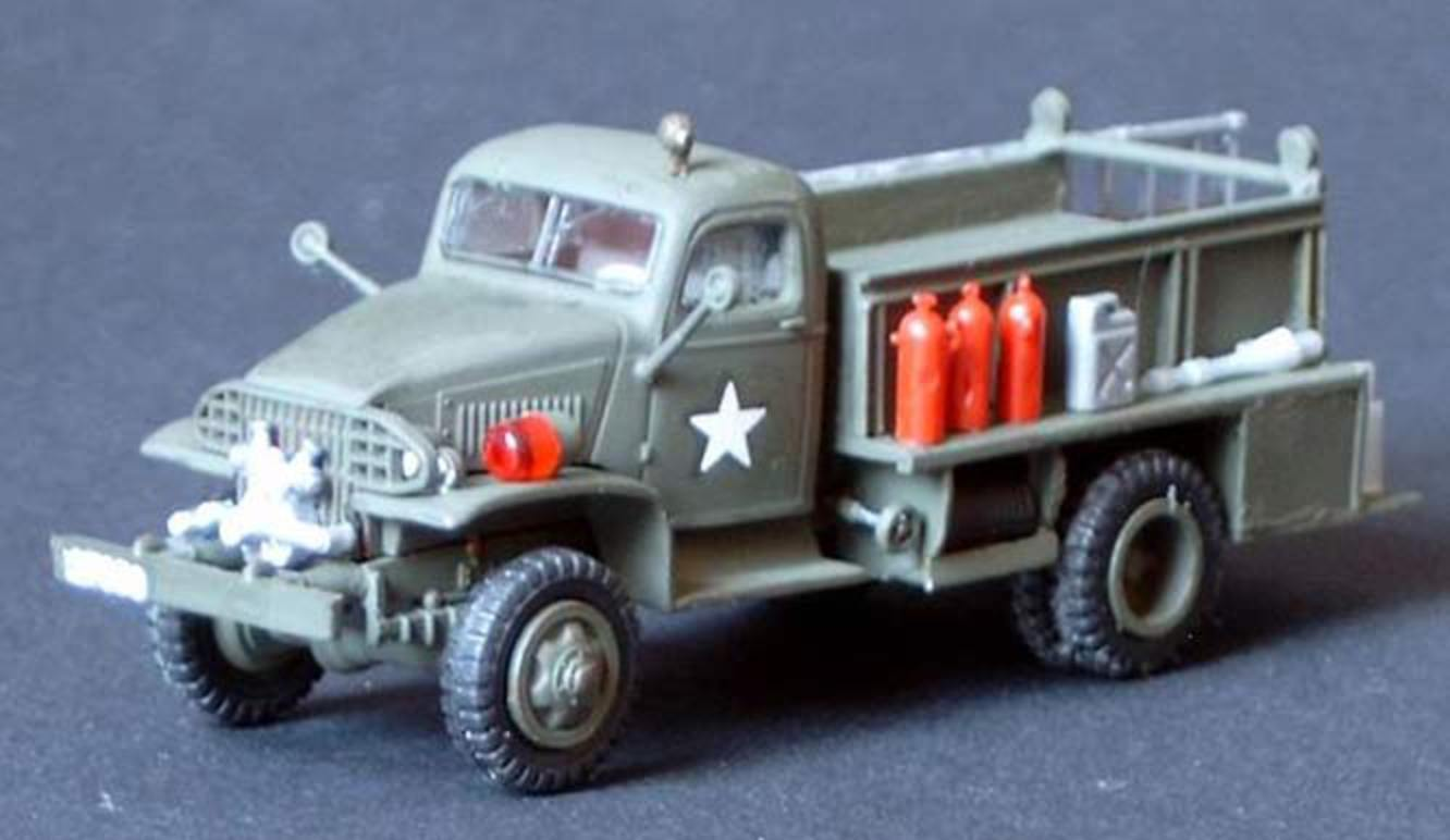 TemplateUS Army 1942 GMC Fire Truck - By Jan Scheele