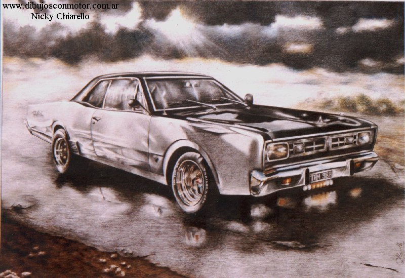 Dodge GTX 260.00 EUR. Description. Dibujo hiperrealista realizado en lápiz