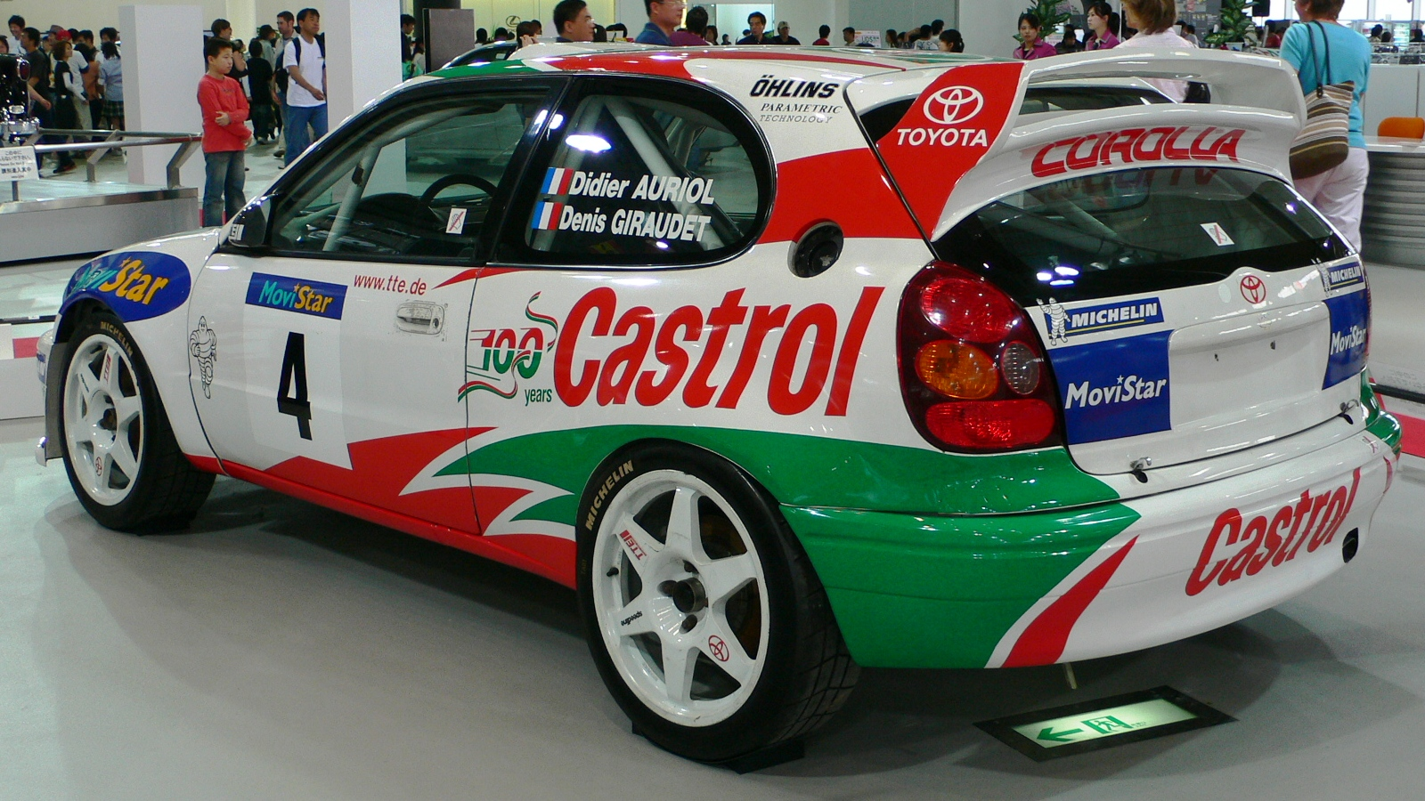 Toyota corolla wrc (257 comments) Views 21132 Rating 22