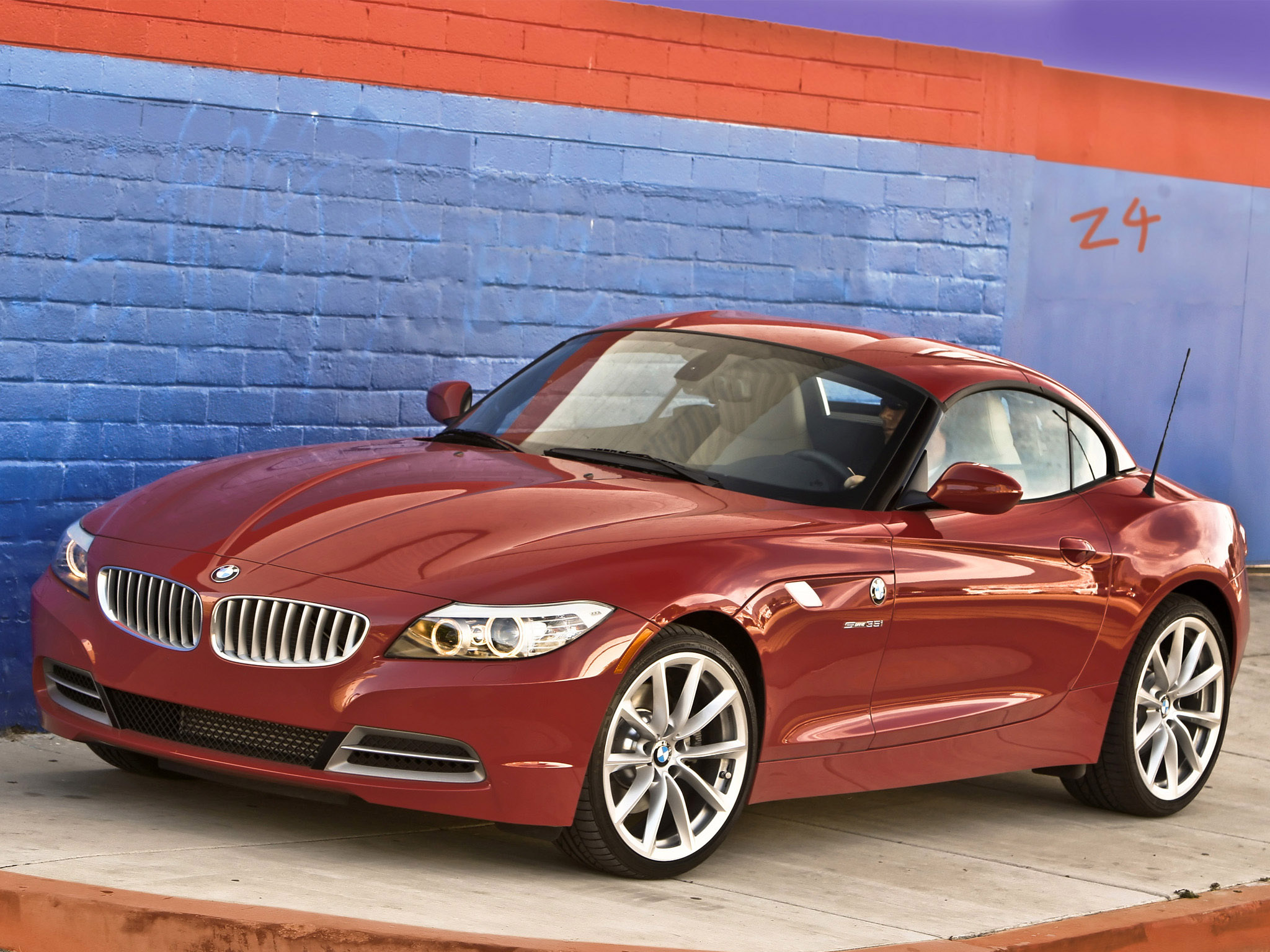 BMW Z4 sDrive35i Roadster E89 USA 2009