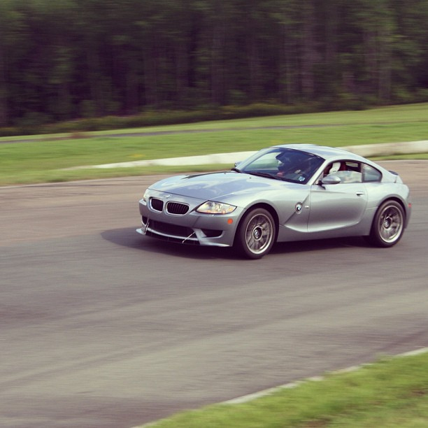BMW Z4-M Coup. An afternoon lapping session.