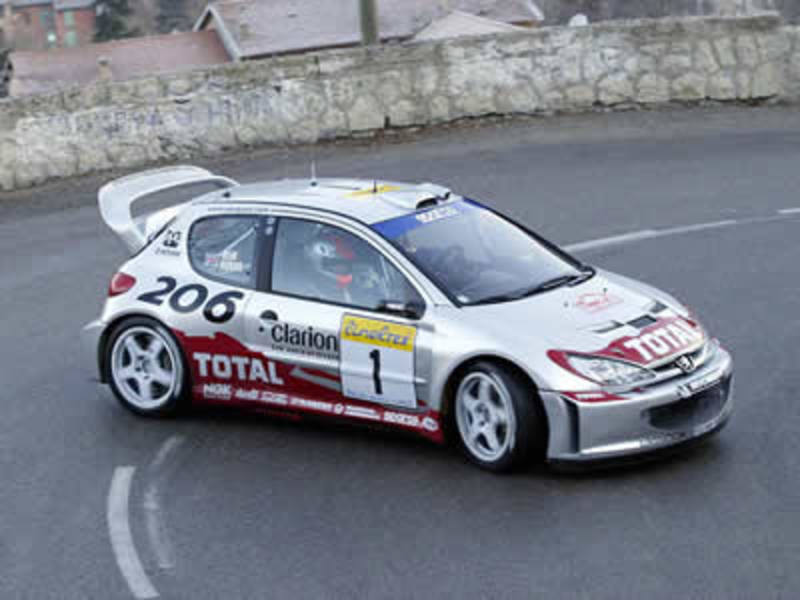Enjoy these pictures & wallpapers of the Peugeot 206 WRC.
