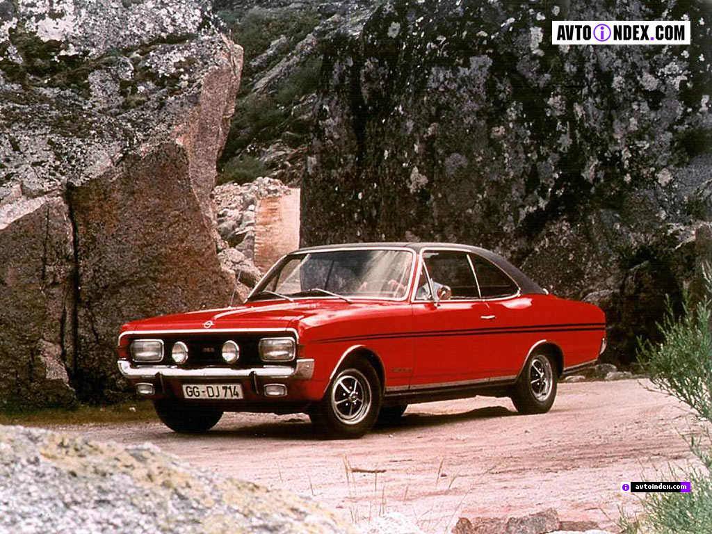 Opel Commodore GSE coupe - huge collection of cars, auto news and reviews,