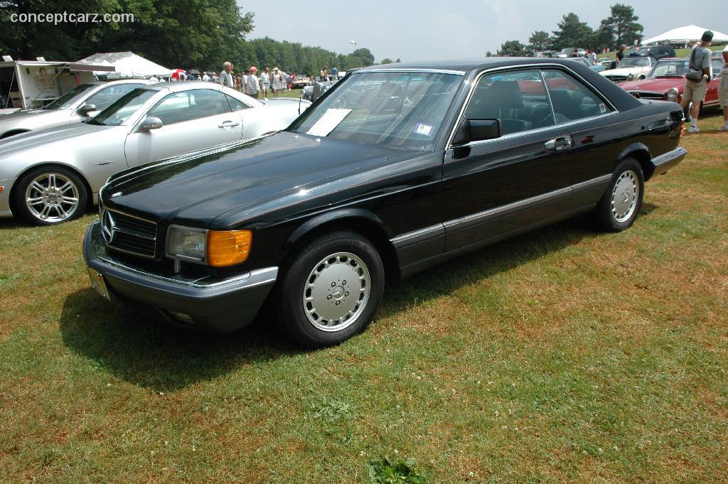 1991 Mercedes-Benz 560 SEC auction sales and data.