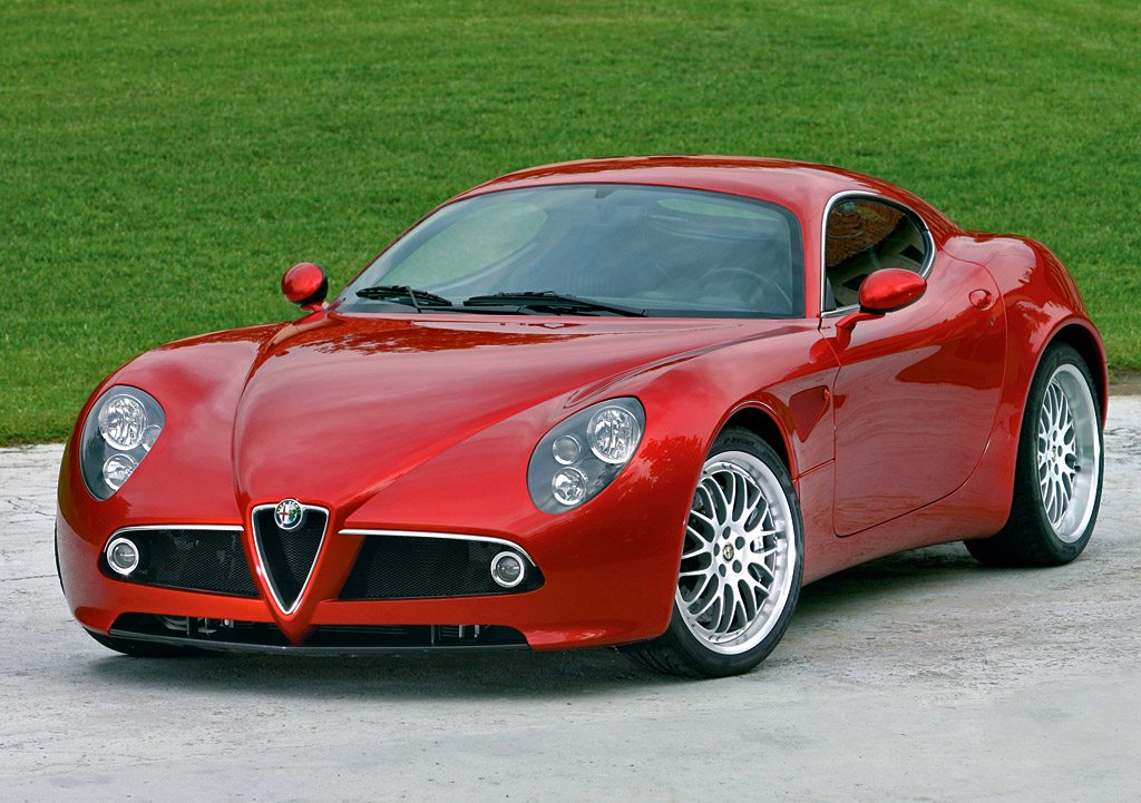 The Alfa Romeo 8C Competizione, without a doubt the most beautiful car that