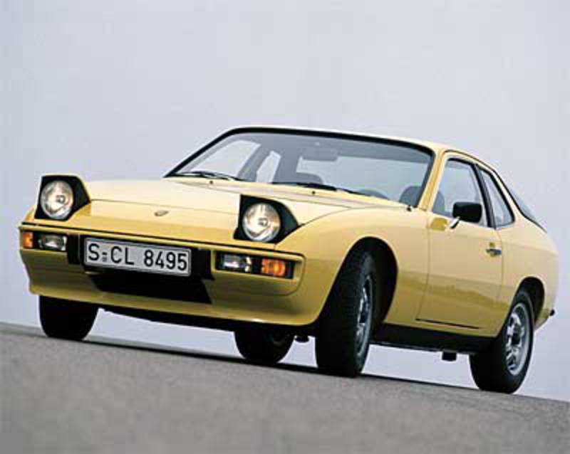The Porsche 924 was produced by Porsche AG of Germany from 1976 to 1988.