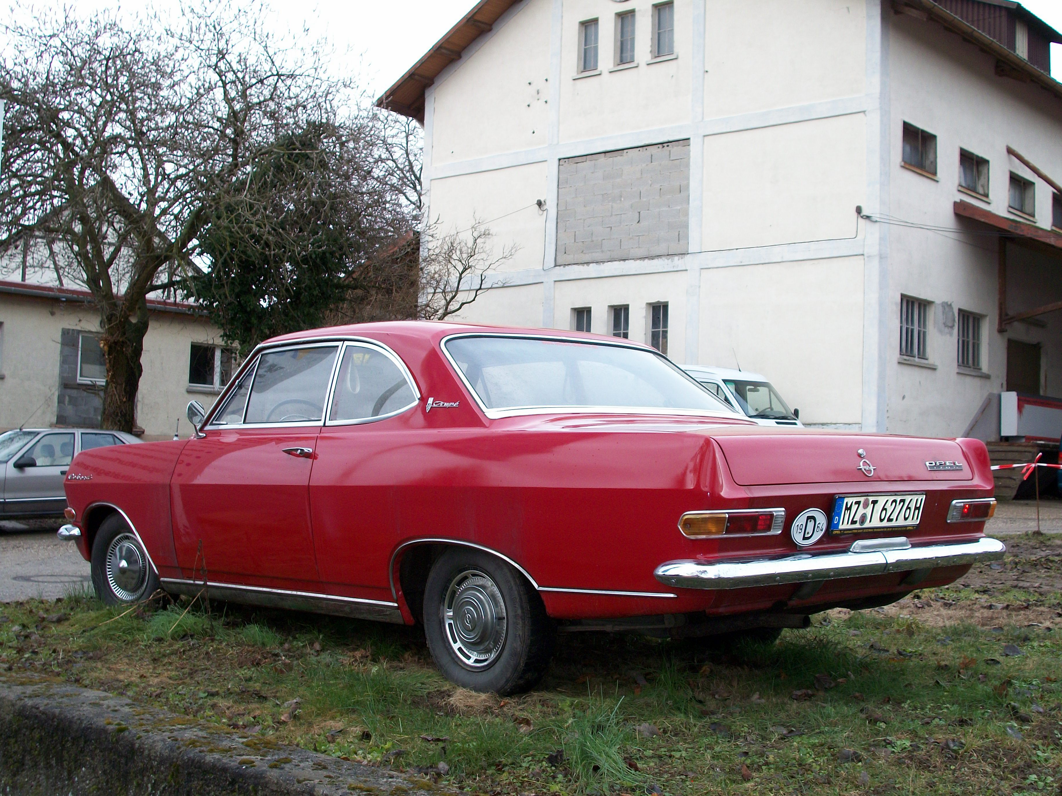 258, Opel Rekord 1700 Coupe