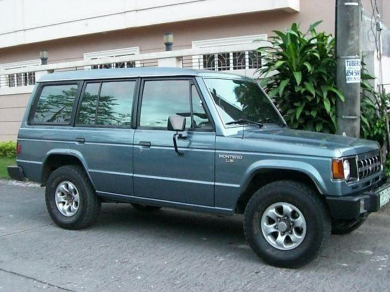 Pictures of 1991 Mitsubishi Montero V6. PHP285,000. Price. 137,000 Kms
