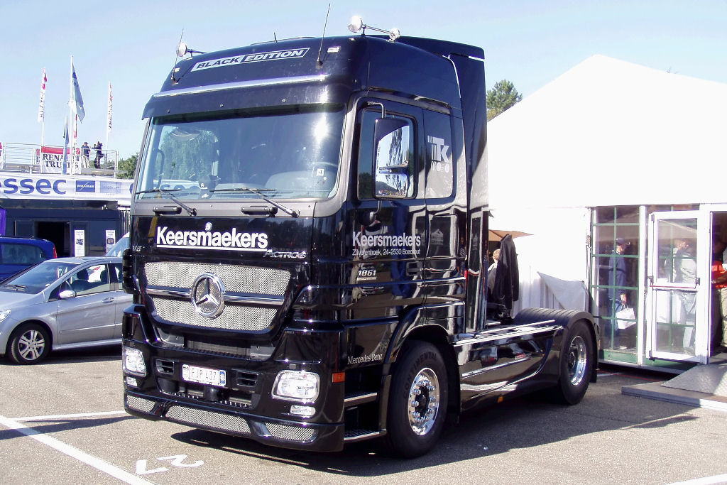 Mercedes-Benz Actros 1861 Black Edition – Belgium