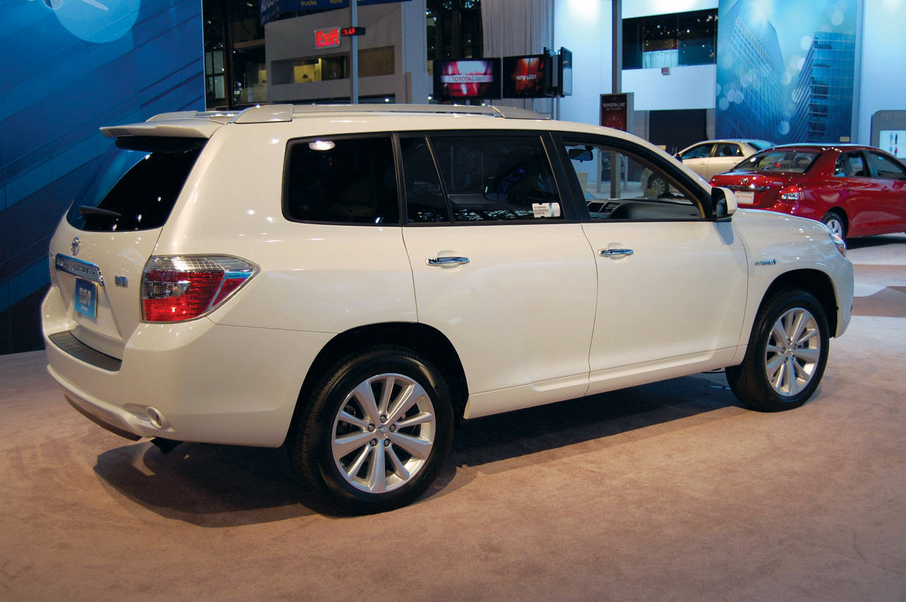 Форум любителей Toyota Highlander