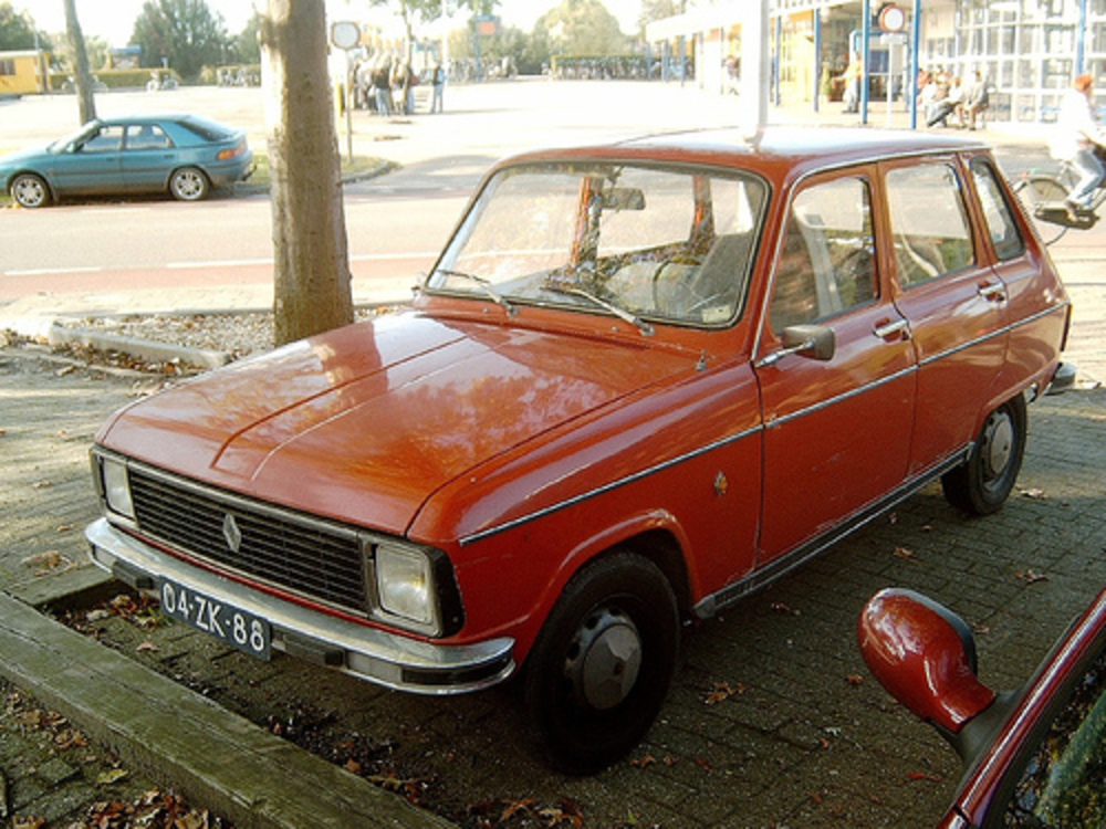 1976 Renault 6 TL. I had not seen one in years and thought they had all