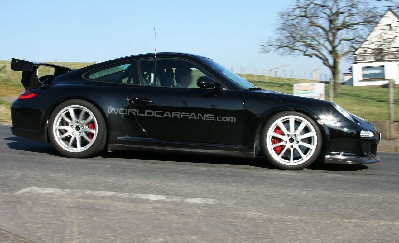 2010 Porsche 911 GT3 RS Spy Photos