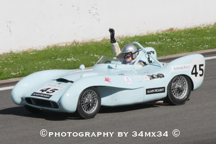 59 Lotus MK 9 1955 + the very good inboard vidéo photo - Philippe ...