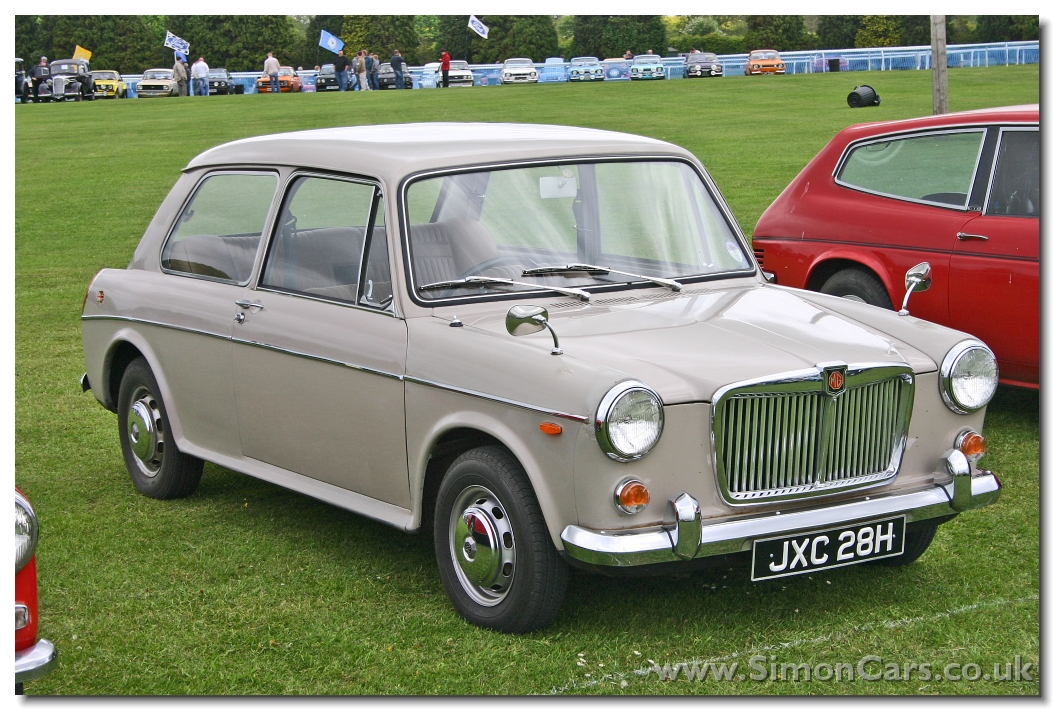 MG 1300 MkII 2door. in 1968 the 1300 MkII was launched with 70bhp (65bhp for