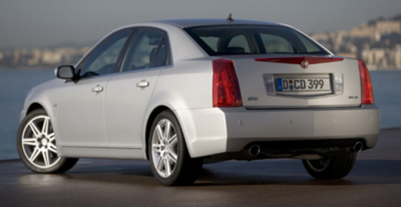 The 2012 Cadillac BTS will be priced below the CTS in Cadillac's lineup.