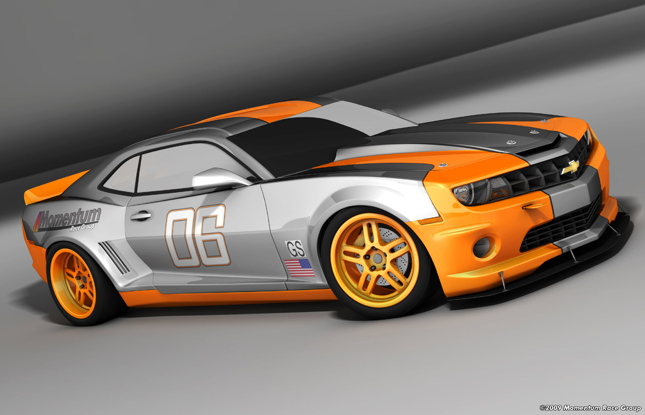 Sports Car Zone » Momentum Race Group reveals Camaros to run in KONI .