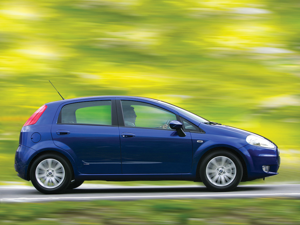 Fiat Grande Punto Motion Luca di Montezemolo had reasons to be worried.