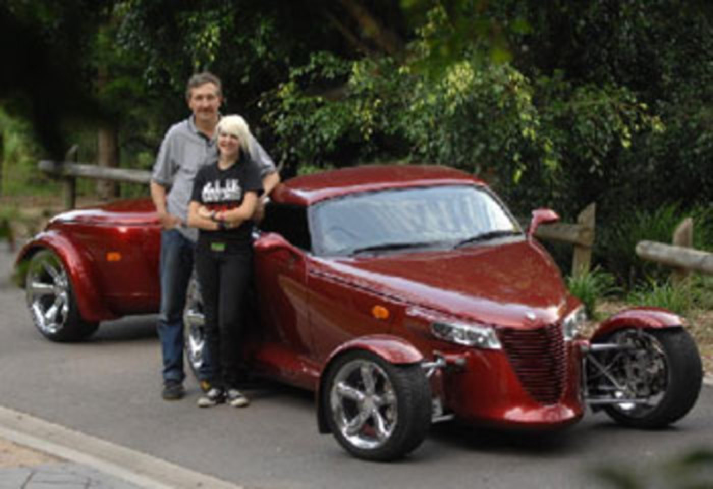 Peter Gasiliauskas's stunning 2002 Chrysler Prowler is believed to be 1 of