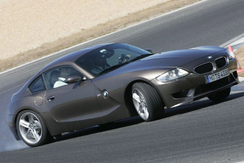 BMW Z4 M Coupe. Our first impressions of BMW's new Z4 Coupé bring to mind