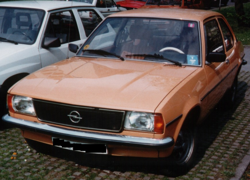 Opel ascona 1.2 (993 comments) Views 42669 Rating 67