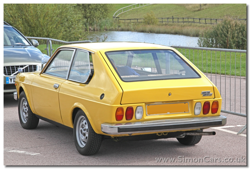 Fiat 128 3P rear. Fiat 128 3P. The VW Golf had given the hatchback format