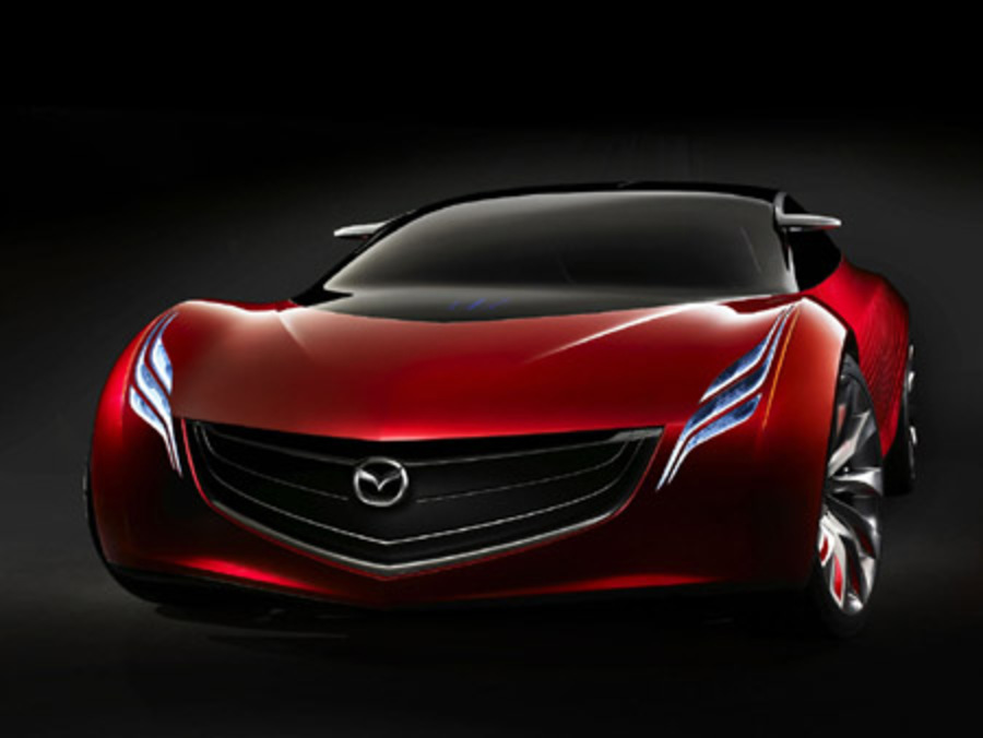 "The Ryuga (pronounced ""ree-yoo-ga,"" Japanese for gracious flow) is Mazda's"