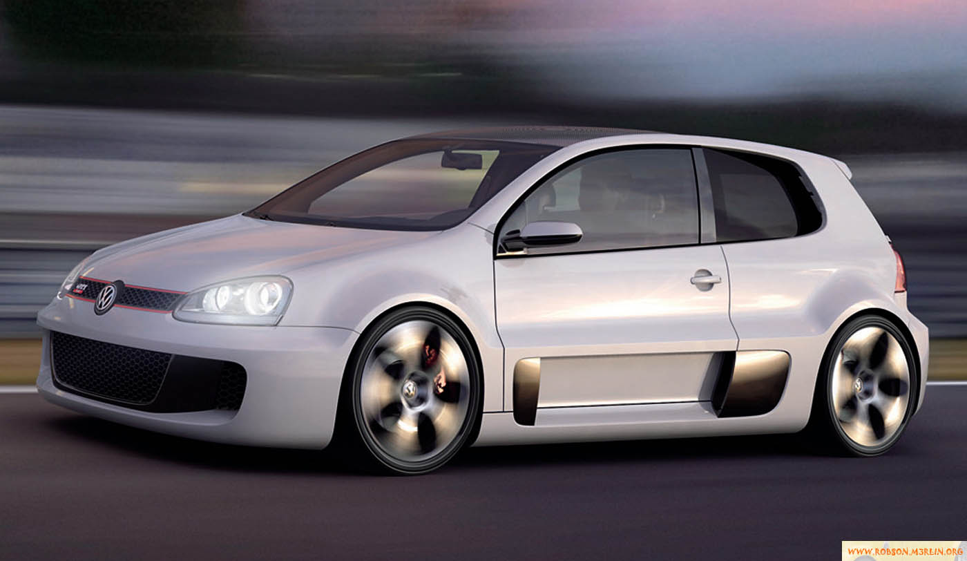 2007 Volkswagen Golf GTI W12 Concept Car 650HP
